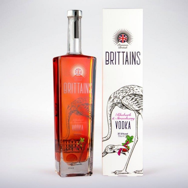 Brittains Premium Strawberry & Rhubarb