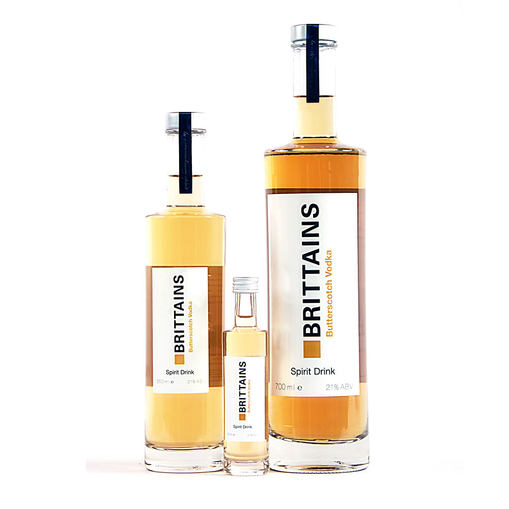Brittains Butterscotch Vodka Spirit