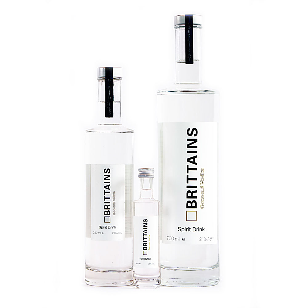 Brittains Coconut Vodka Spirit