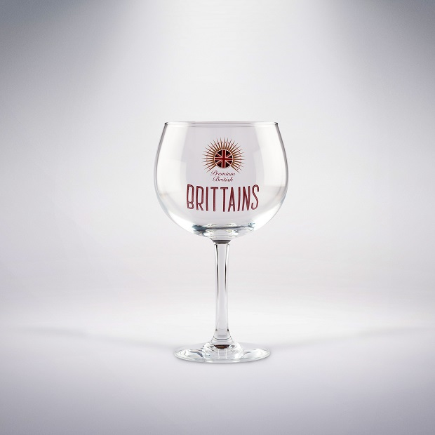 Brittains Gin Glass